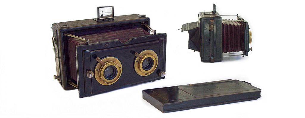 Hüttig' Record Stereo Camera