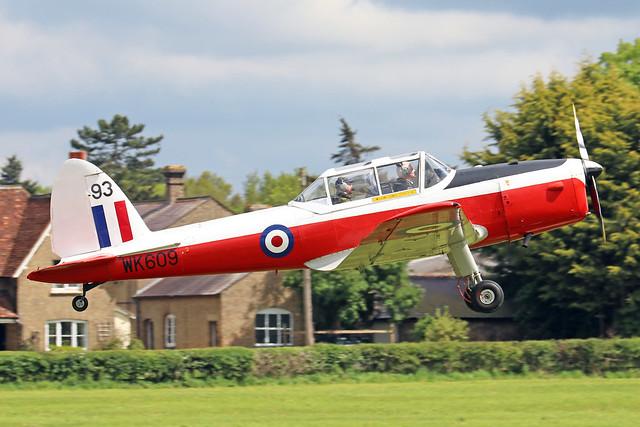 G-BXDN/WK609  -  De Havilland Canada DHC-1 Chipmunk T10 c/n C1/0618  -  EGTH 22-5-21