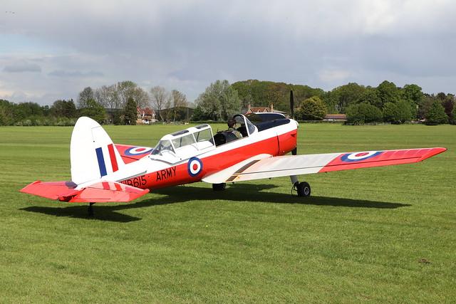 G-BXIA/WB615  -  De Havilland Canada DHC-1 Chipmunk 22 c/n C1/0056  -  EGTH 22/5/21