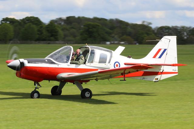 XX629  -  Scottish Aviation Bulldog T.1 c/n BH120-294  - EGTH 22/5/21