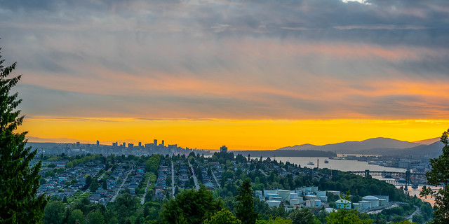 Vancouver from Capitol Hill