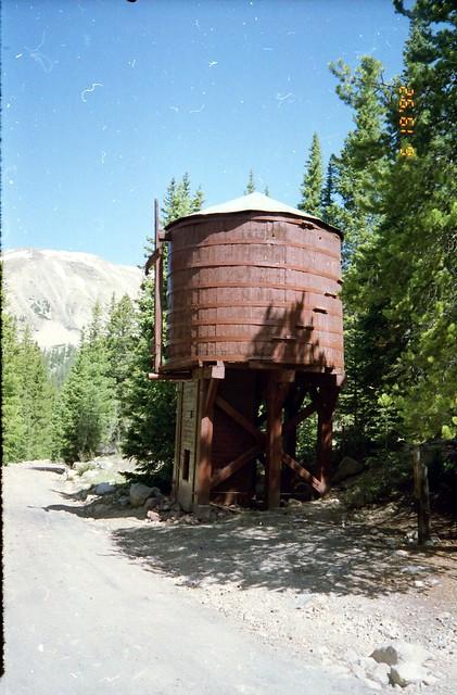 D&RG abandoned water tank