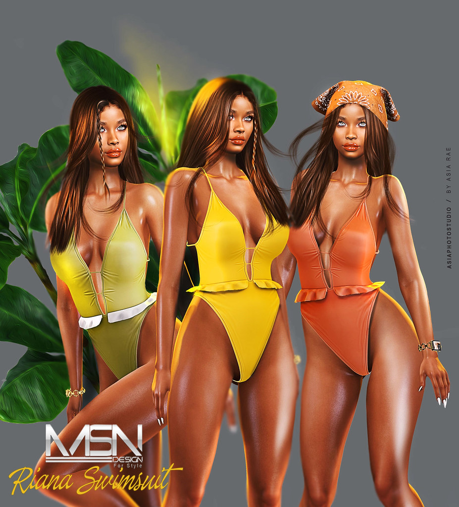 New Release@Riana Swimsuit