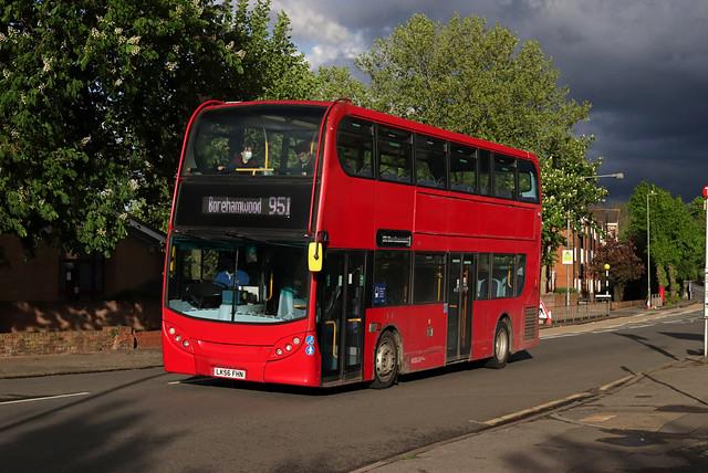 Route 951, Sullivan Buses, E55, LK56FHN