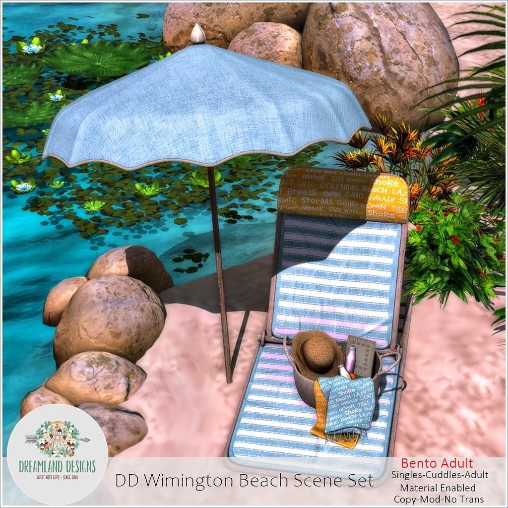DD Wilmington Beach Scene Set-Adult Ad