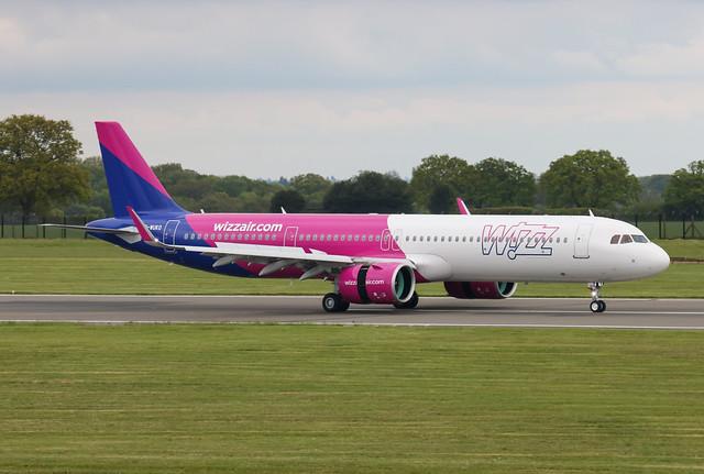G-WUKO Airbus A321-271NX Wizzair UK