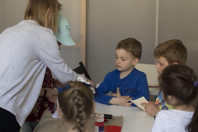 Tvorivé dielne pre deti. Čo myslím, keď hovorím o farbe, kids workshop (11.05.2017)