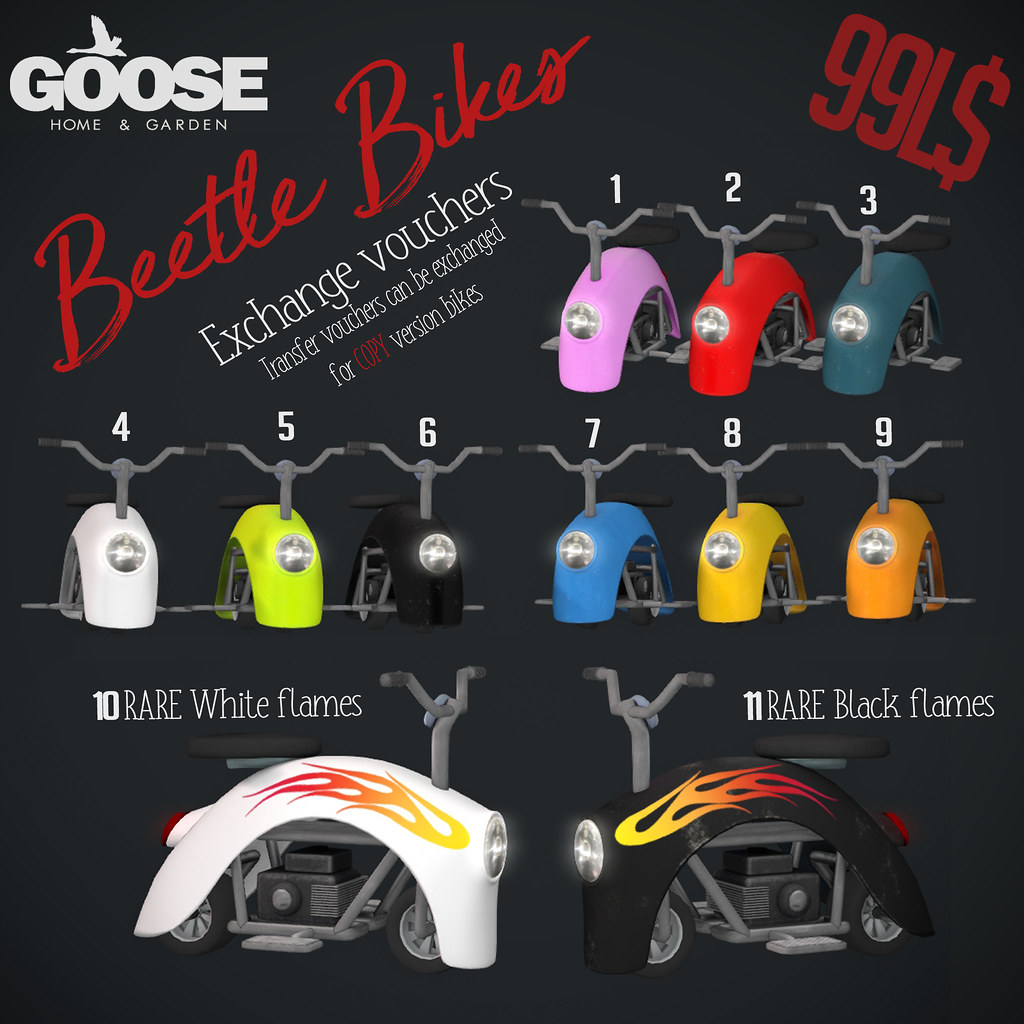 GOOSE – BEETLE Bike gacha