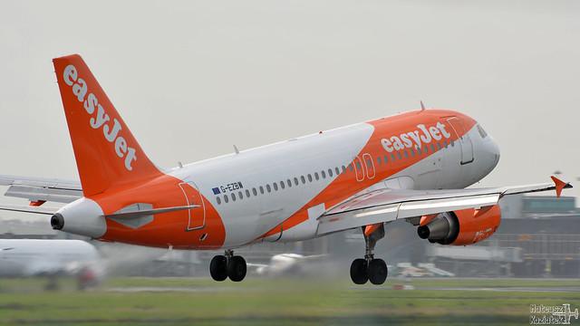 easyJet 🇬🇧 Airbus A319-100 G-EZBW