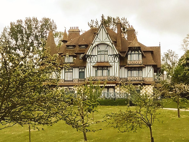 La Villa Strassburger / Deauville Normandie