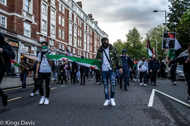 Free Palestine March - London UK 22.05.21