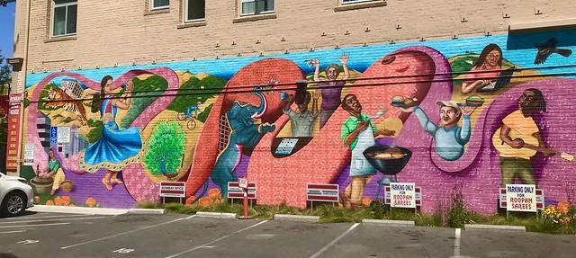 Berkeley, CA mural