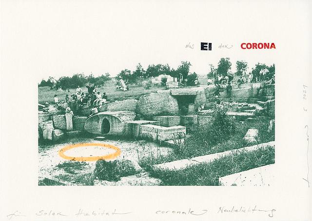 Das Ei der Corona