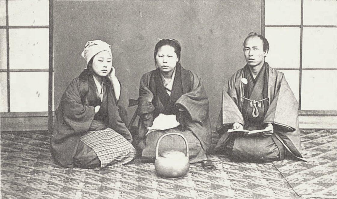 Портрет семьи купца