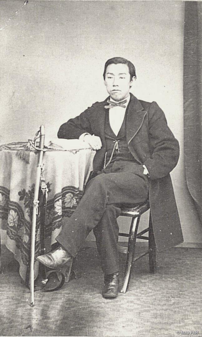 Портрет секретаря русского отделения при Министерстве иностранных дел Тикатомо Сига. 1872