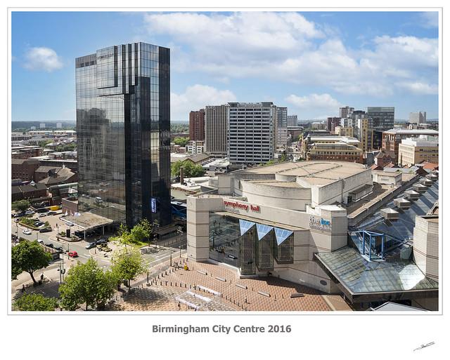Birmingham City Centre 2016