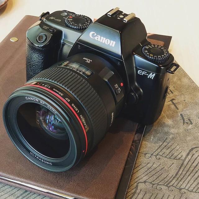 Canon EF 35mm f1.4L 一代目的菲林質感