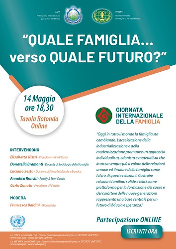 Italy-2021-05-14-International Day of Families Observed in Italy