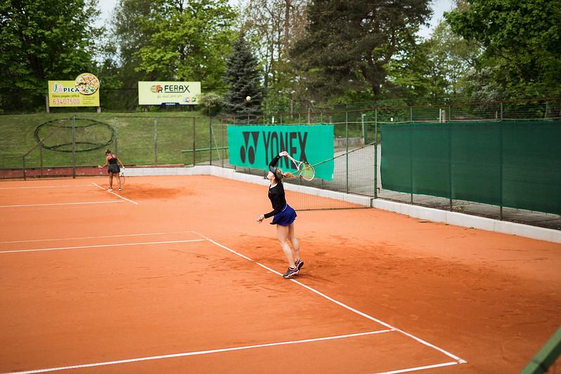 """Starptautiskās ITF pasaules tenisa tūres W25 kategorijas sacensības sievietēm """"Liepaja Open"""" 1.diena (kvalifikācija). Foto: Mārtiņš Vējš / 1st day of ITF Women's World Tennis Tour W25 category """"Liepaja Open"""" (qualifiers). Photo: Mārtiņš Vējš"""