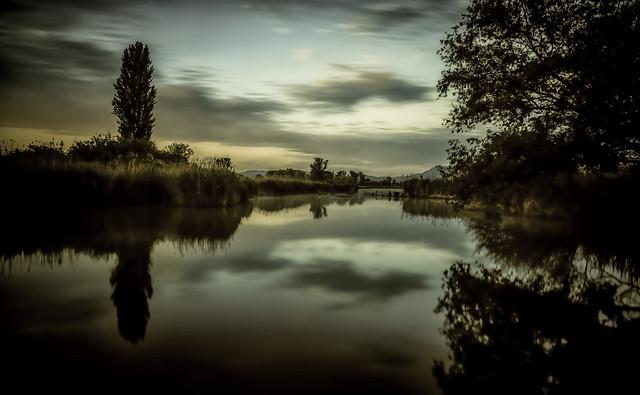 ... tramonto nella riserva (01) ...