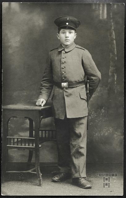 ArchivTappen233A894 Soldatenporträt, WWI 1914-1918