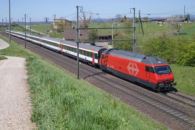 SBB Re 460 002 Möhlin