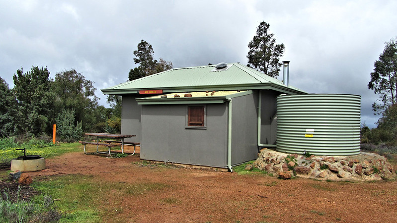 Mount Wells Shelter for lunch