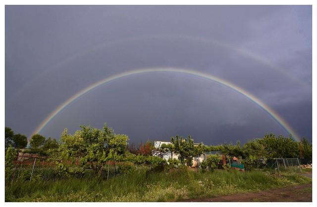 En algún lugar sobre el arco iris...