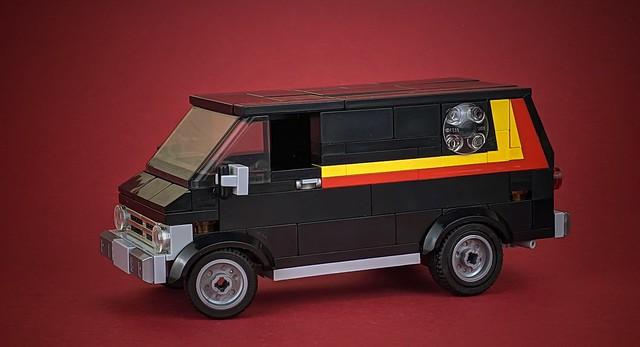 1972 Ford Ecoline street van (76192 mod)
