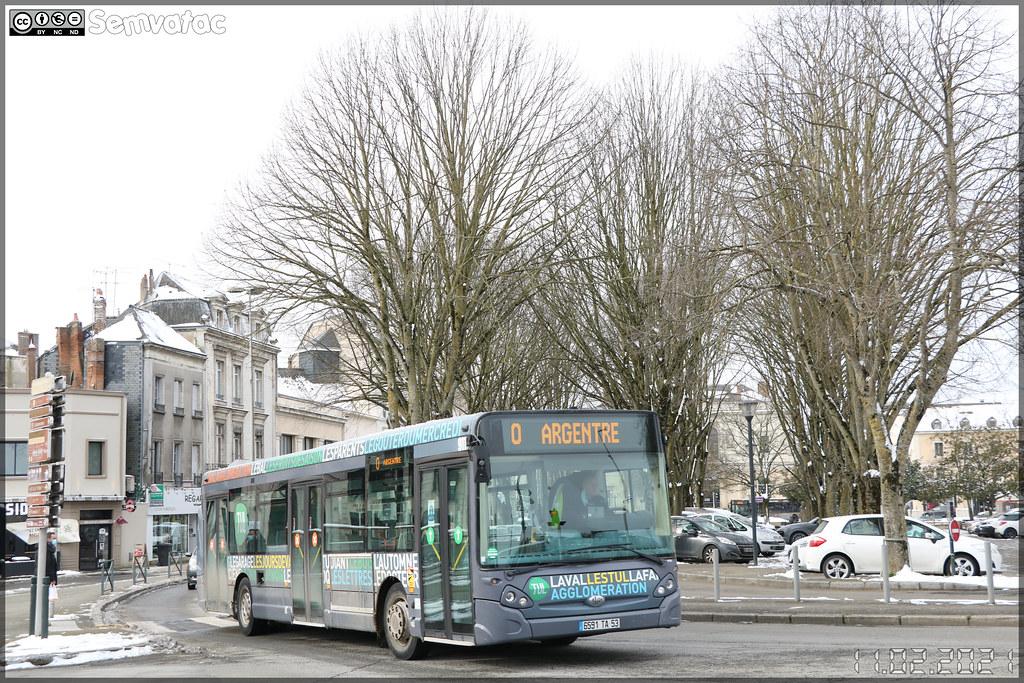 Heuliez Bus GX 327 – Transdev Stao 53 (STAO PL, Société des Transports par Autocars de l'Ouest – Pays de la Loire) / TUL (Transports Urbains Lavallois) n°911