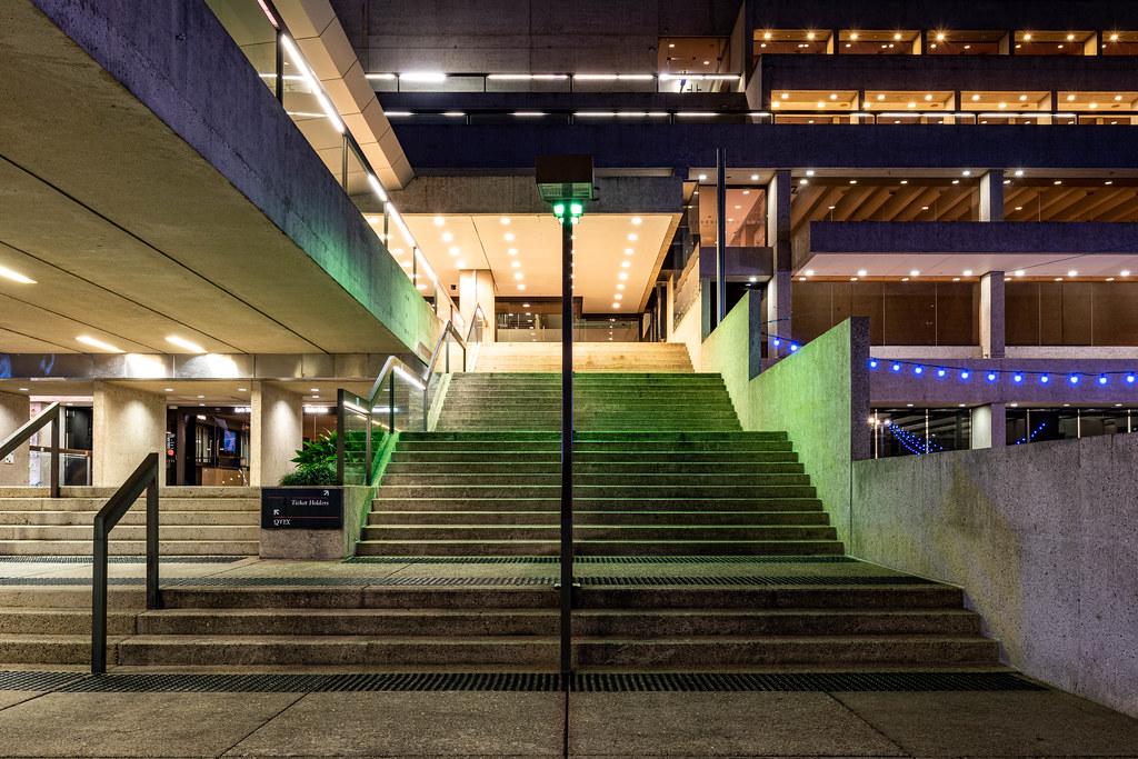 The Queensland Cultural Centre: the Queensland Performing Arts Centre (QPAC)  (Brisbane, Australia)