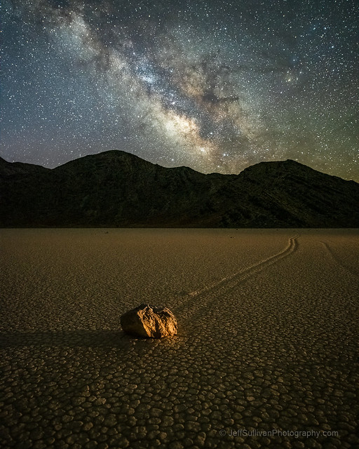 Milky Way Over Sailing Stone