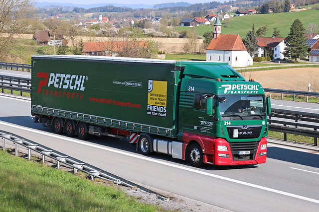 MAN TGX 18.460  Petschl Transporte