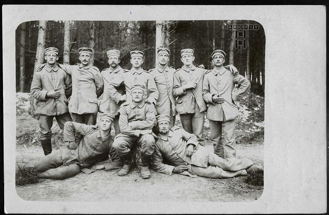 ArchivTappen233A890 Feldgraue, WWI, Frankreich, 4. September 1915