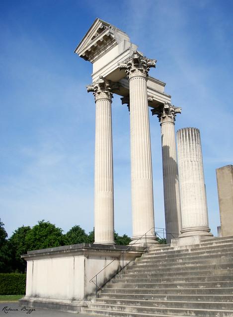 Roman temple fragments (reconstruction)