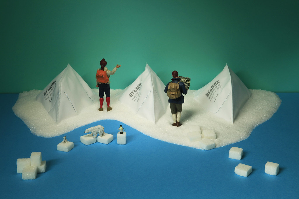 far from virus, second arctic trip