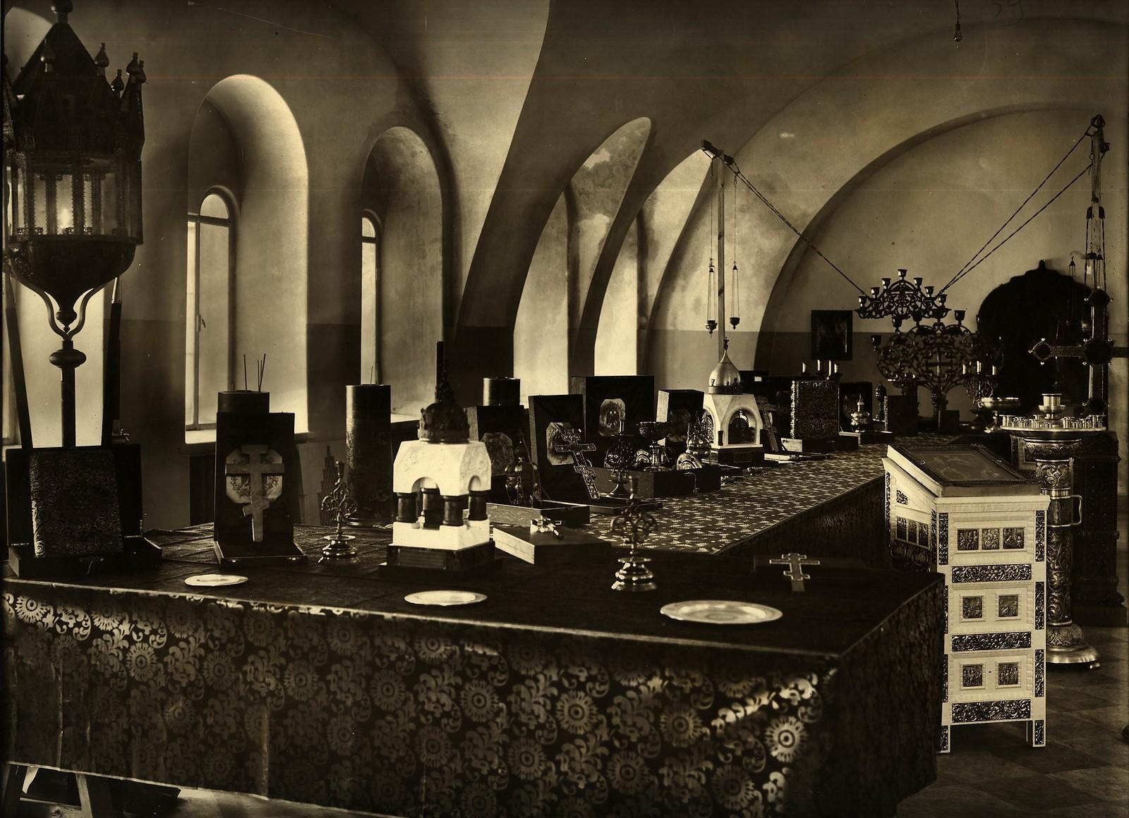 1914. Церковная утварь Феодорвского собора