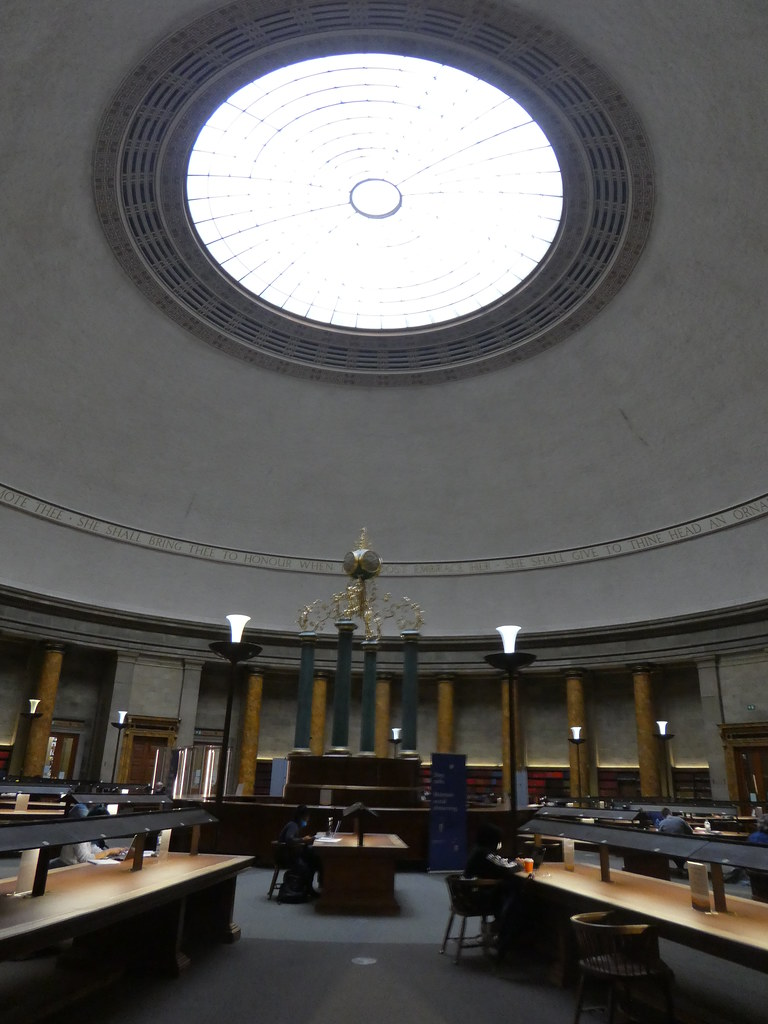 The Wolfson Reading Room, Central Library Manchester