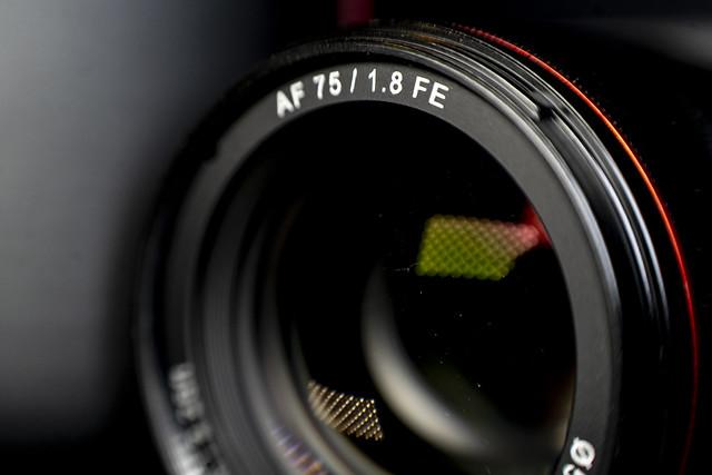 Rokinon/Samyang 75mm F1.8 Auto Focus Compact Full Frame Lens