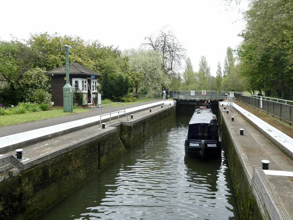 Caversham Lock, Reading