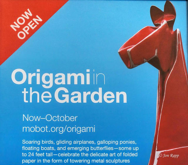MOBot Origami In The Garden 01 (edit)