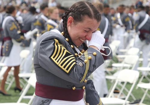 Wiping away the tears of joy 1