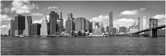 Manhattan Cityscape, Redux