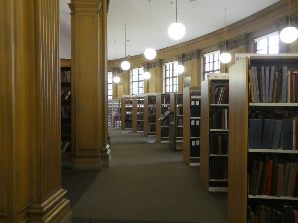 Henry Watson Music Library, Manchester Central Library