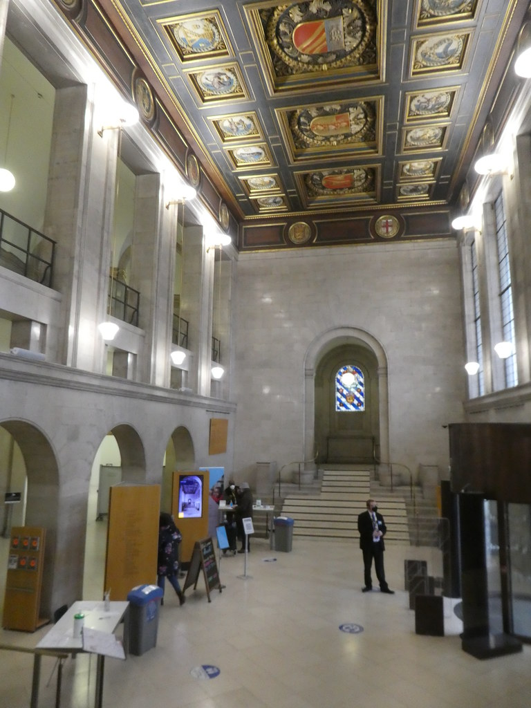 Entrance Hall, Manchester Central Library