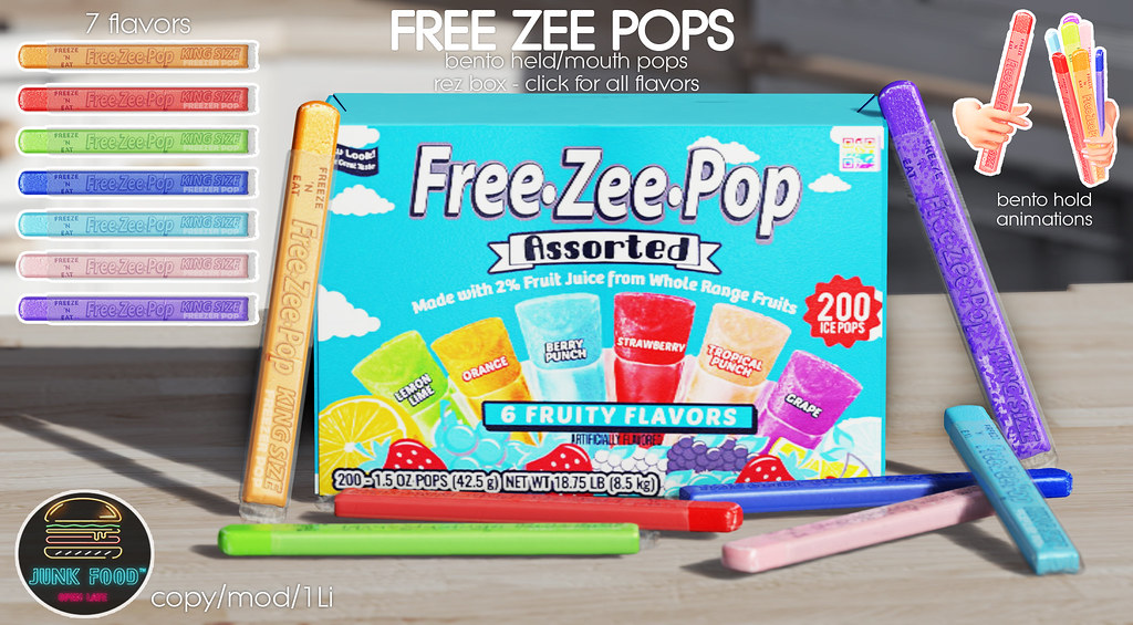 Junk Food – Free Zee Pops Ad