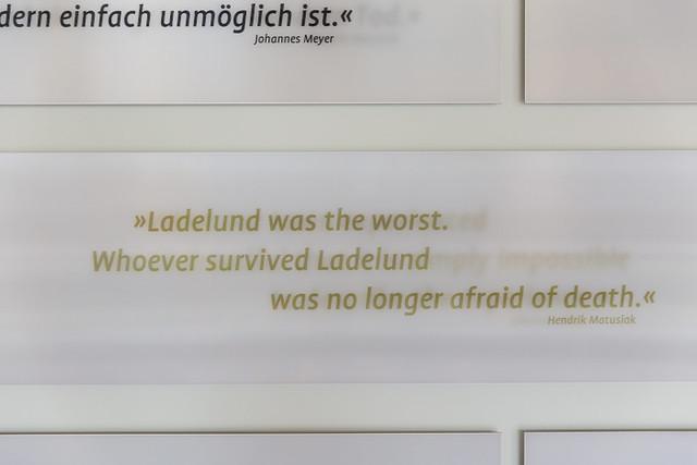 KZ Außenlager Ladelund / in the documentary center