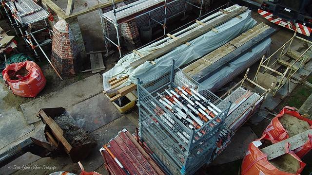 Update renovatie schuur aan het Boerenhof