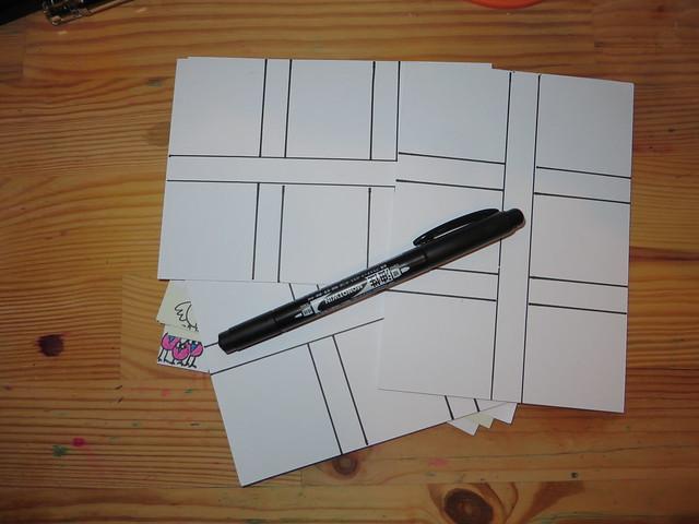 Postcard grids