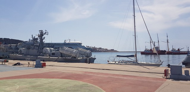 Luka Bar. port of Bar